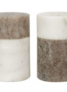 John Lewis Arundel Marble Salt and Pepper Shakers