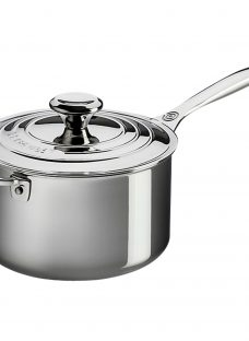 Le Creuset Signature 3-Ply Stainless Steel 20cm Saucepan