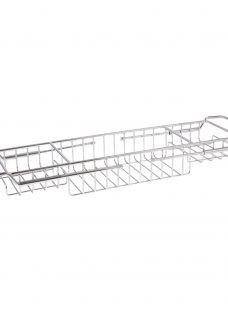 John Lewis Stainless Steel Extendable Bath Rack