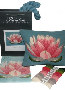 The Flanders Tapestry Collection Lotus Flower Tapestry Kit