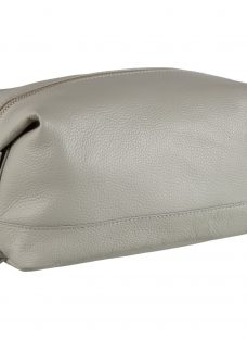 John Lewis Croft Collection Leather Wash Bag