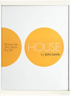 House by John Lewis MDF Wrap Picture Frame