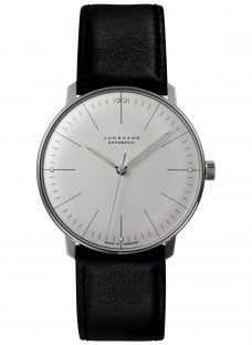 Junghans 027/3501.00 Men's Max Bill Automatic Leather Strap Watch