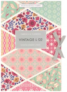 Heathcote & Ivory Vintage Fabric & Flowers Scented Drawer Liners