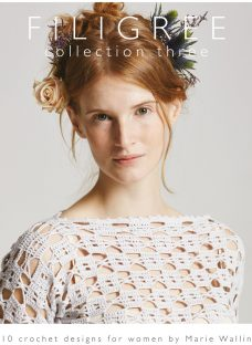 Rowan Filigree Collection Three by Marie Wallin Knitting and Crochet Pattern Book