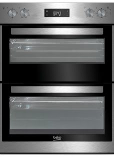 Beko BTF26300X Built-Under Electric Double Oven