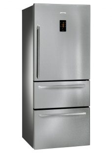 Smeg FT41BXE 3-Door American Style Fridge Freezer