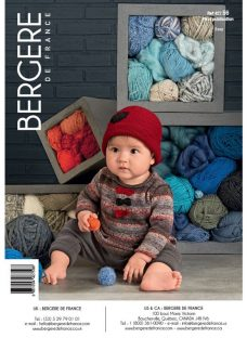 Bergere De France Baby's Sweater and Hat Knitting Pattern