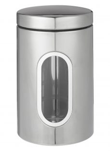 John Lewis Stainless Steel Window Canister