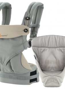 Ergobaby 360 Bundle of Joy Baby Carrier With Insert