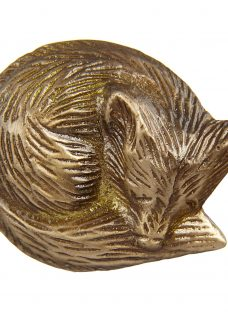 John Lewis Brass Fox Cupboard Knob