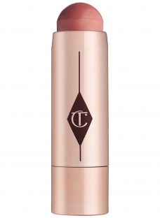 Charlotte Tilbury Beach Stick Lip To Cheek Dewy Colour Pop