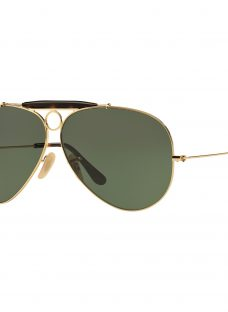 Ray-Ban RB3138 La Havana Shooter Aviator Sunglasses