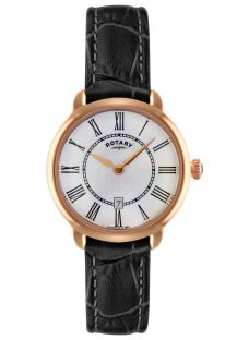 Rotary LS02919/41 Women's Elise Leather Strap Watch