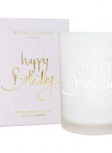 Katie Loxton 'Happy Birthday' Sweet Vanilla and Wild Daisy Scented Candle