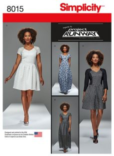 Simplicity Misses' Women's Project Runway Dresses Sewing Pattern