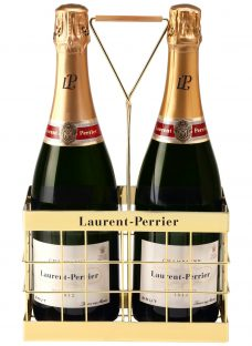 Laurent-Perrier Brut Champagne and Crate