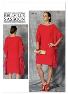 Vogue Women's Pullover Dress Sewing Pattern