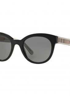 Burberry BE4210 Check Oval Sunglasses