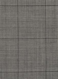 Harrisons Premium Check Wool Suiting Fabric