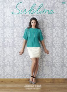 Sirdar Sublime Women's Jumpers and Tops Knitting Pattern Booklet