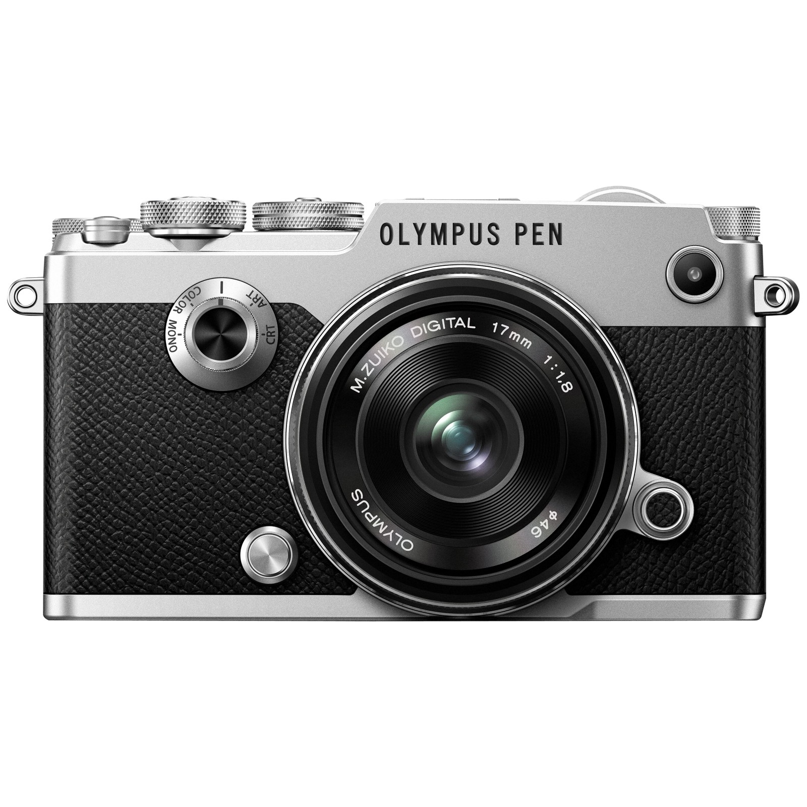 Olympus Pen F Compact System Camera With M.ZUIKO 17mm Prime Lens