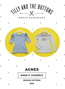 Tilly and the Buttons Agnes Jersey Top Sewing Pattern