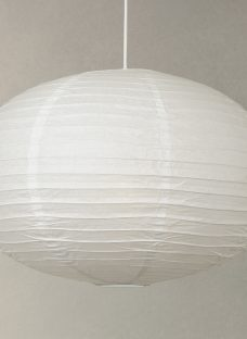 House by John Lewis Easy-to-Fit Paper Oval Ceiling Light