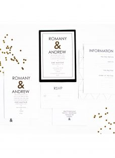 Abigail Warner Ampersand Personalised Day Invitations