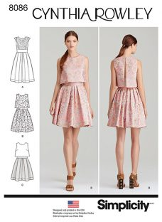 Simplicity Women's Dresses Sewing Pattern