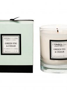 Stoneglow Modern Classics Green Fig and Cedar Scented Candle