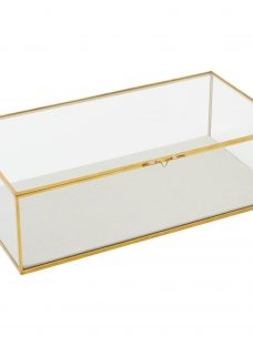 west elm Glass Shadow Rectangle Box