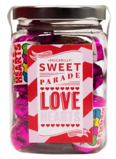 Piccadilly Sweet Parade 'Love Heart' Sweet Jar