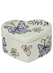 Gallery Thea Personalised Heart Box