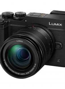 Panasonic LUMIX DMC-GX8 Compact System Camera With 12-60mm Lens