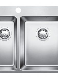 Blanco Andano 340/180IFA 1.5 Inset Kitchen Sink with Right Hand Bowl