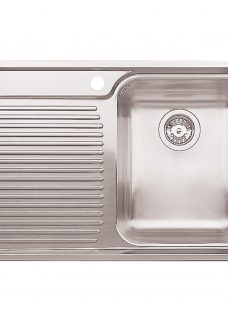 Blanco Classic 4S Single Inset Kitchen Sink with Right Hand Bowl