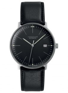 Junghans 027/4701.00 Men's Max Bill Automatic Date Leather Strap Watch