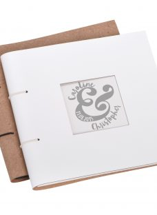 Letterfest Personalised Wedding Leather Photo Album