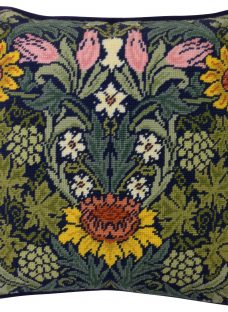 Bothy Threads William Morris Sunflowers Printed Canvas Tapestry Kit