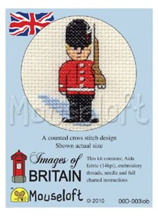 Mouseloft London Guard Cross Stitch Kit