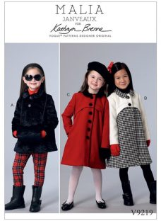 Vogue Children's Coats and Muff Sewing Pattern