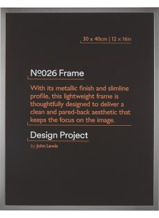 Design Project by John Lewis No.026 Metal Photo Frame