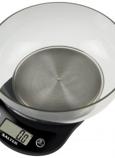 Salter Precision Electronic Kitchen Bowl Scale