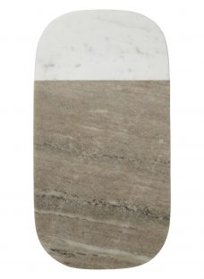 John Lewis Croft Collection Arundel Marble Serving Board