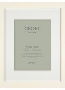 John Lewis Croft Collection Solid Box Frame