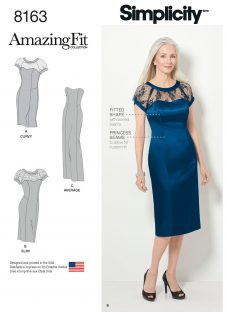 Simplicity Amazing Fit Women's Dress Sewing Pattern