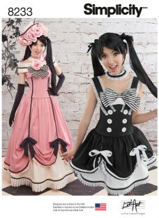 Simplicity Costumes Sewing Pattern