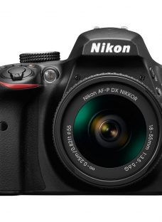 Nikon D3400 Digital SLR Camera with 18-55mm Lens