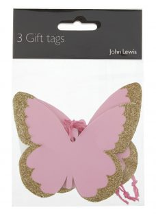 John Lewis Butterfly Gift Tags